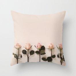 Just Rosey Throw Pillow