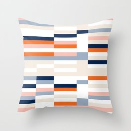Connecting lines 2. Throw Pillow