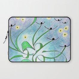 Cosmic Thistles Laptop Sleeve