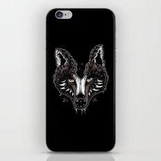 wolf head iPhone & iPod Skin
