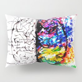 Conjoined Dichotomy Pillow Sham
