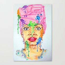 Colors Spots Canvas Print