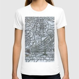 The Wall and the Writers T-shirt