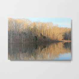 Shanty Hollow Lake Metal Print
