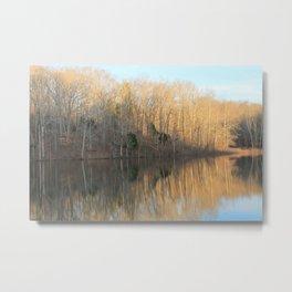 Shanty Hollow Lake Metal Print