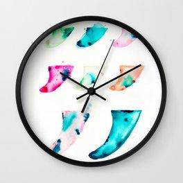 Fin Spectrum Wall Clock
