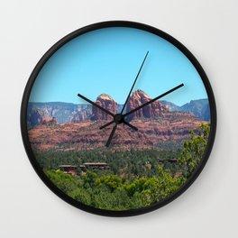 Sedona Red Rocks Wall Clock
