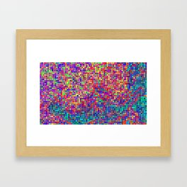 of silence Framed Art Print