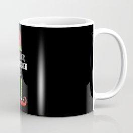 Fernseher Elf Partnerlook Weihnachten Coffee Mug