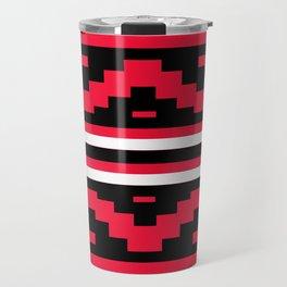 Etnico red version Travel Mug