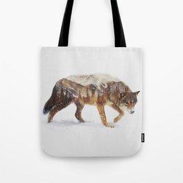 Arctic Wolf Tote Bag