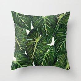 Tropical II Throw Pillow