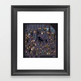 Super Aliens³ Resurrection Framed Art Print