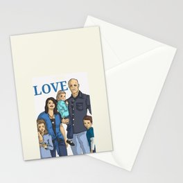 Chad's beautiful family Stationery Cards