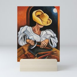 Making Cuban Cigars. Miguez Art Mini Art Print
