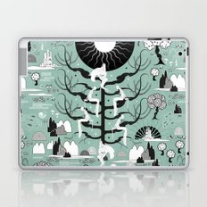 The six princesses (Celadon) Laptop & iPad Skin