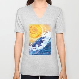 Ocean Wave Unisex V-Neck