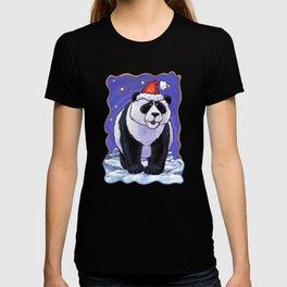 Panda Bear Christmas T-shirt