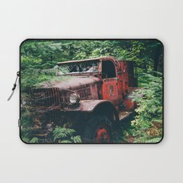 Abandoned Truck in the Woods Laptop Sleeve