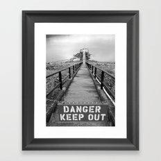 danger danger Framed Art Print