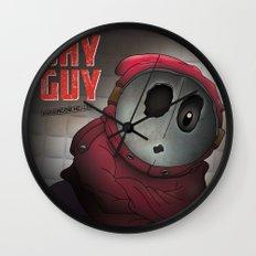 Shy Guy - Mushroom Health Wall Clock
