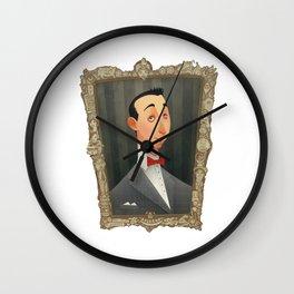 Pee Wee Herman Wall Clock