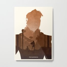 Pocahontas Metal Print