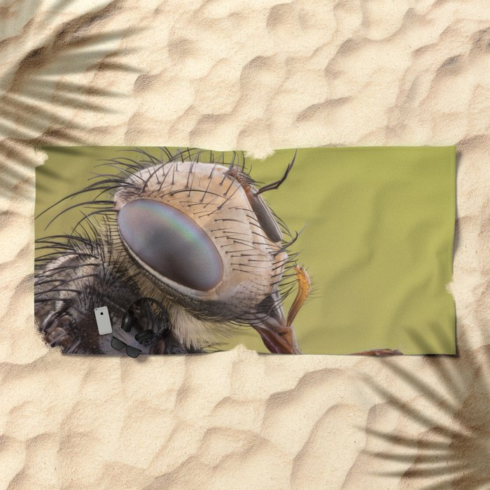 Insect VI Beach Towel