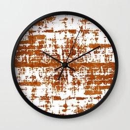 Bronze Abstract III Wall Clock