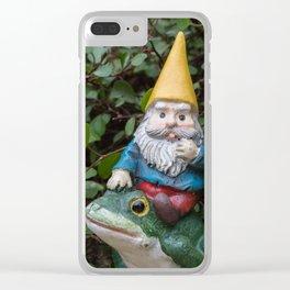 Adventure gnome Clear iPhone Case