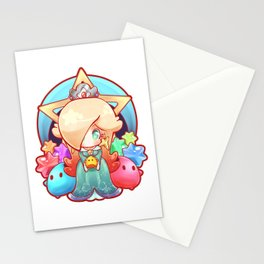 Rosalina Badge Stationery Cards