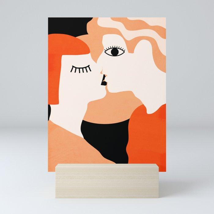Kiss2 Mini Art Print