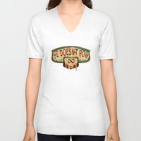 bioshock V-neck T-shirts featuring Bioshock Infinite by Arts and Herbs