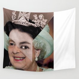 Queen Elizabeth II Wall Tapestry