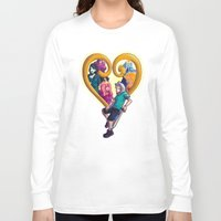 kingdom hearts Long Sleeve T-shirts featuring Kingdom of Adventure // Adventure Time // Hearts by ⚡eizure ⚡quid ⚡tudio