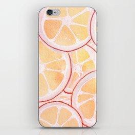 Tangerine Ring Party! iPhone Skin