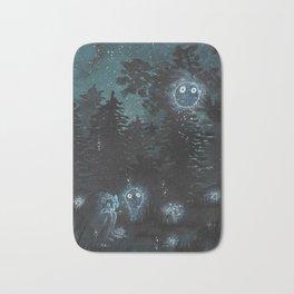 ghosts Bath Mat