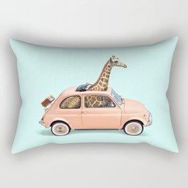 GIRAFFE CAR Rectangular Pillow