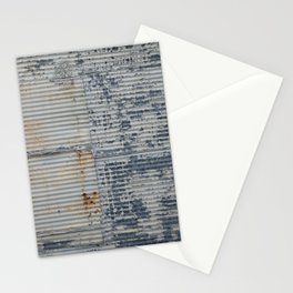 Warehouse District -- Rustic Industrial Farm Chic Abstract Stationery Cards