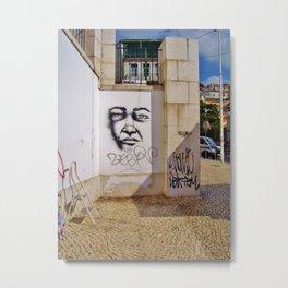 URBAN PHOTOGRAPH - MARTIM MONIZ (LISBON)  Metal Print