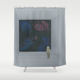 Empty Space 13 Shower Curtain