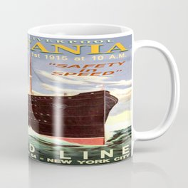Vintage poster - Lusitania Coffee Mug