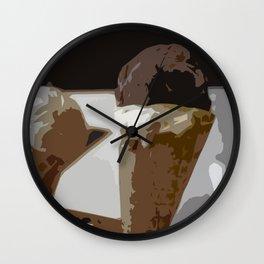Troytown Farm Ice Cream - Scilly Isles Wall Clock