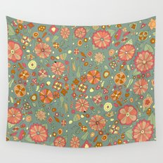 Mandarinas Wall Tapestry