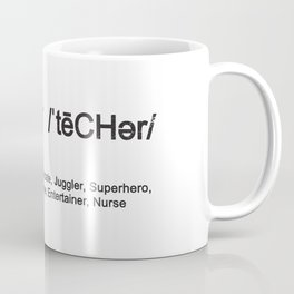 Teacher Wizard Ringmaster Advocate Coffee Mug
