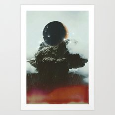 Final Eclipse Art Print