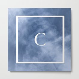 C in the clouds Metal Print
