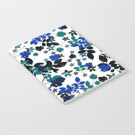 cobalt leaves Notebook