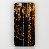 chandelier iPhone & iPod Skins featuring Chandelier by The Botanist's Daughter