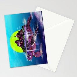 Turtle Paradise Stationery Cards